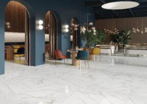 mramorova lesk dlažba podlaha luxusna nadčasová bledá