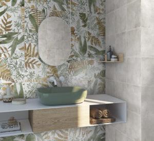 dizajnove obklady listy priroda teple farby ceracasa