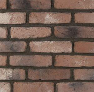 imitácia tehly, betónová tehla, napodobenina pravej pálenej tehly, tehlový obklad, chelsea stone