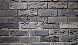 imitácia tehly, betónová tehla, napodobenina pravej pálenej tehly, tehlový obklad, krytex