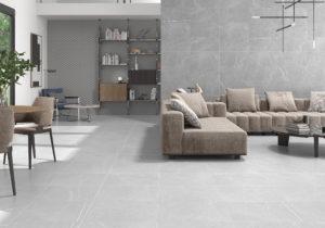 moderná matná sivá dlažba