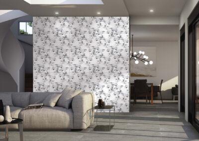 Couture Black White 1 49,1x98,2 CERACASA