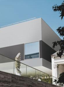 sivý šedý čierny fasadny obklad Ceracasa obklad na dom