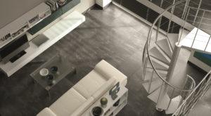 moderno matná dlažba sivá