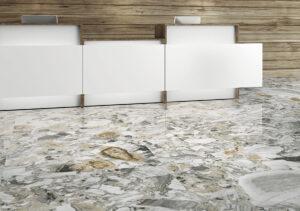 moderná mramorová dizajnová dlažba Ceracasa