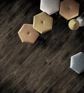 imitácia vzhľad dreva porcelanico Ceracasa tmavé drevo