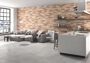 moderná strieborná pololesklá dlažba lapatto sivá Ceracasa